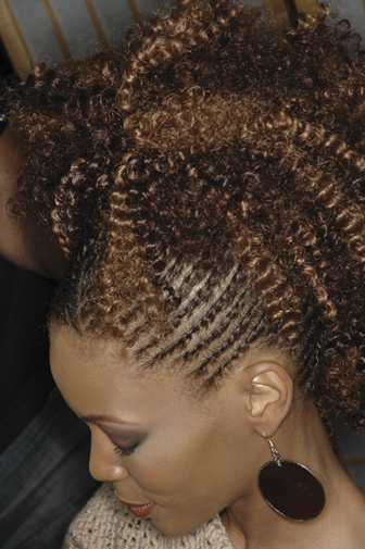 Cornrow Hairstyle - Step 3