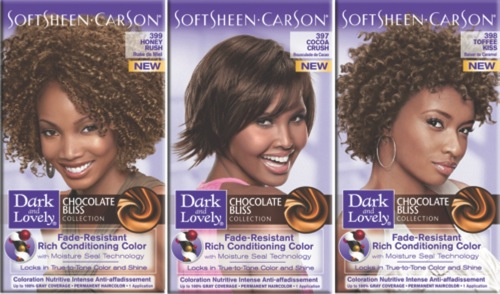 Dark and Lovely Fade-Resistant Rich Conditioning Color Chocolate Bliss Collection