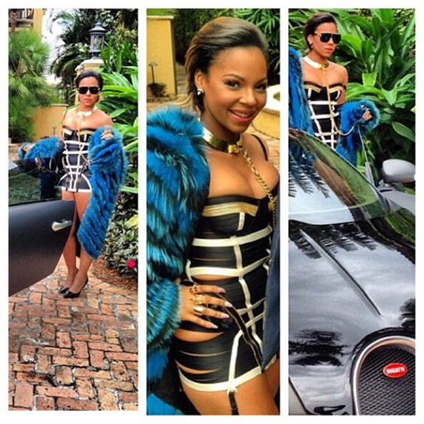 ashanti shows off new cropped cut on set of quoti got itquot video