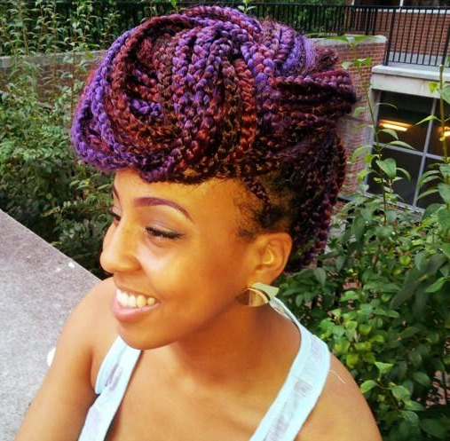 Box braids color 30