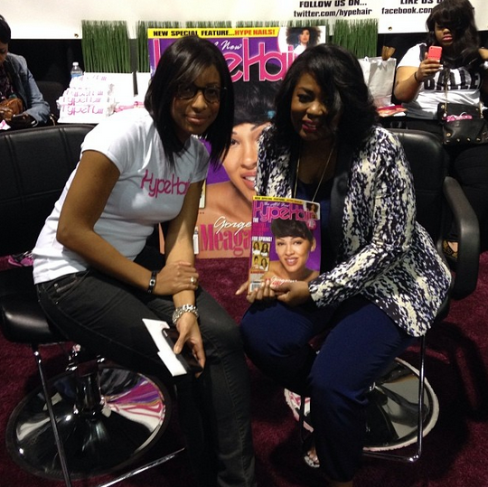 Talking With Tami at Bronner Brothers Hair Show