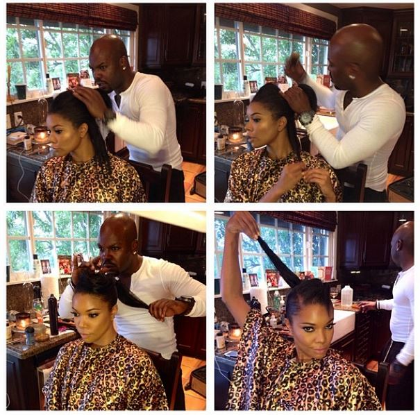Gabrielle union natural hair larry sims hype hair gabrielle union sports her natural hair for the oscars pmusecretfo Choice Image