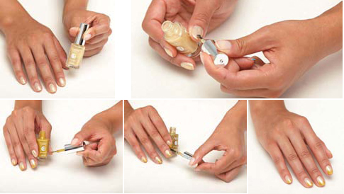 Hype Nails: Kiss Gradation How To