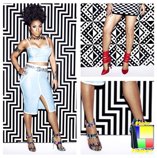 Keyshia Cole Previews New Steve Madden Collection