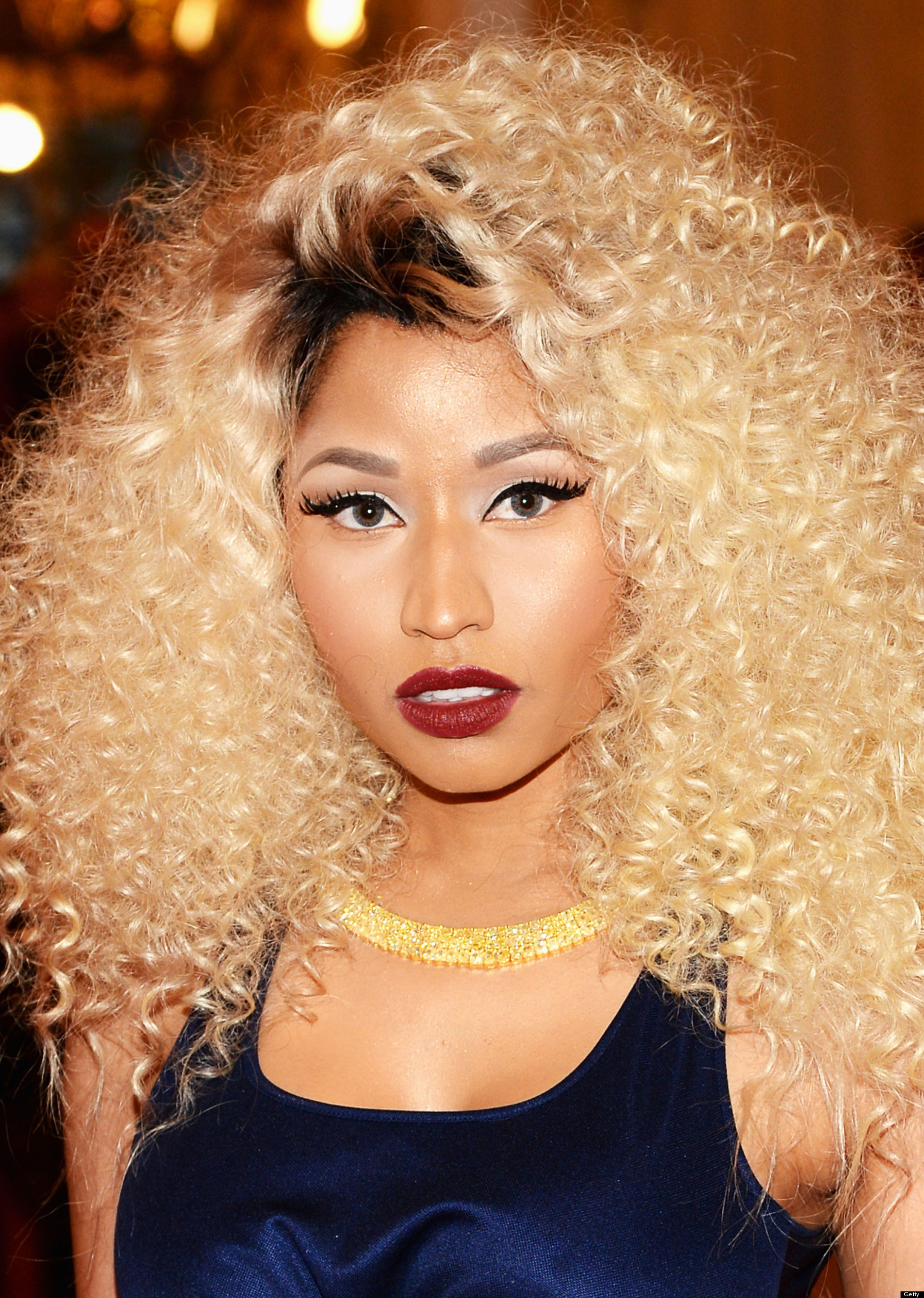 Nicki Minaj Curly Hair