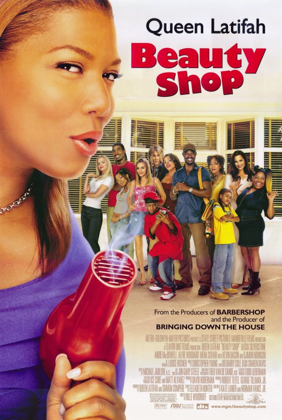 Queen latifah daughter in beauty shop