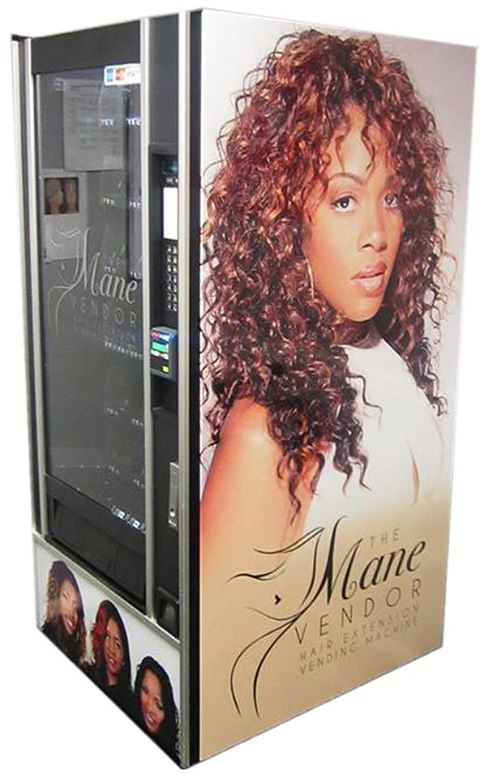 Mane Vending The Newest Edition To Hair Weave Convenience