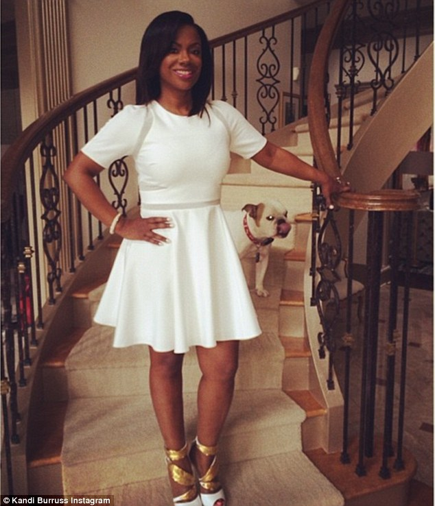 Magnificent Kandi Burruss Shows Off Her Wedding Day Hairstyles Hairstyles For Men Maxibearus