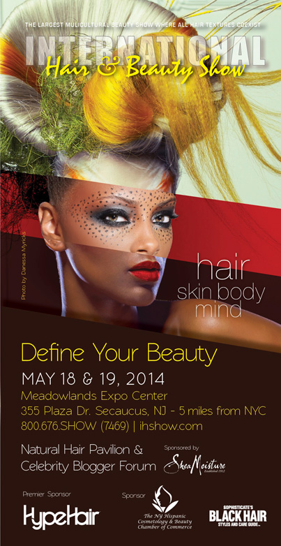 Define Your Beauty At The 2014 International Hair And