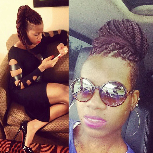 Fantasia Barrino box Braids