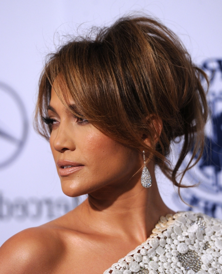 Jennifer Lopez Hair Up Styles Magnificent Hair Crush Wednesday Jennifer Lopez's Iconworthy Styles