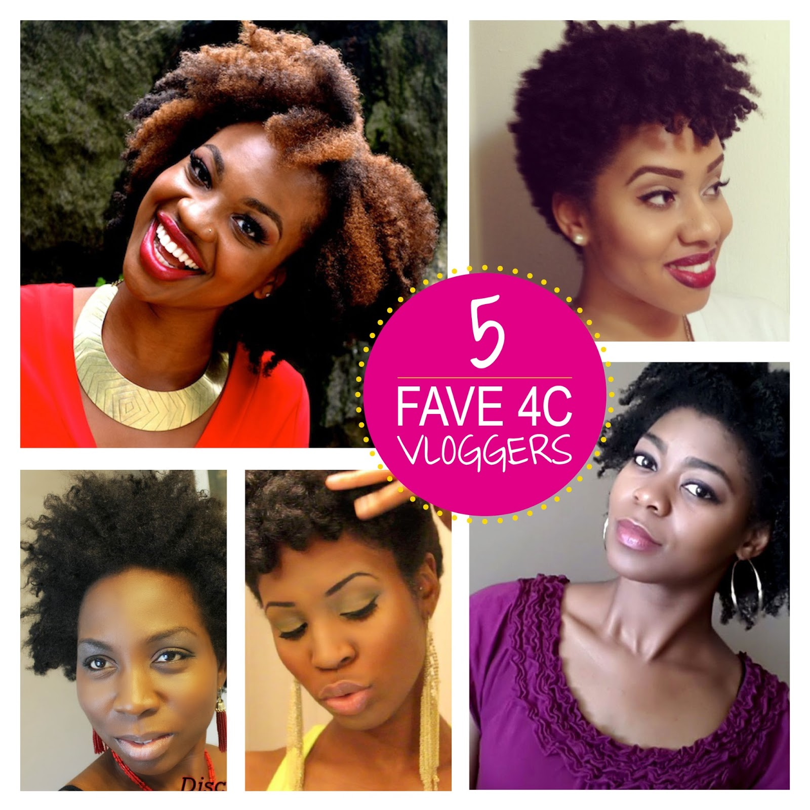 My Favourite 4c Natural Hair Vloggers