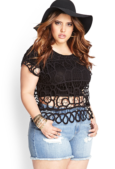 New Arrivals Forever 21 Plus Size Collection Hype Hair