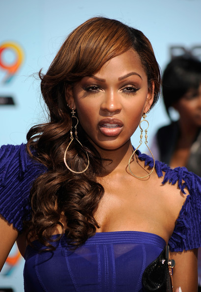 Head to Clothes: Meagan Good's Best Red Carpet Moments Natural Medium Red Hair