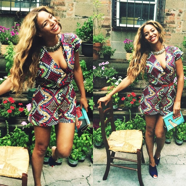 Beyonce Shows Off Fly Prints on Instagram