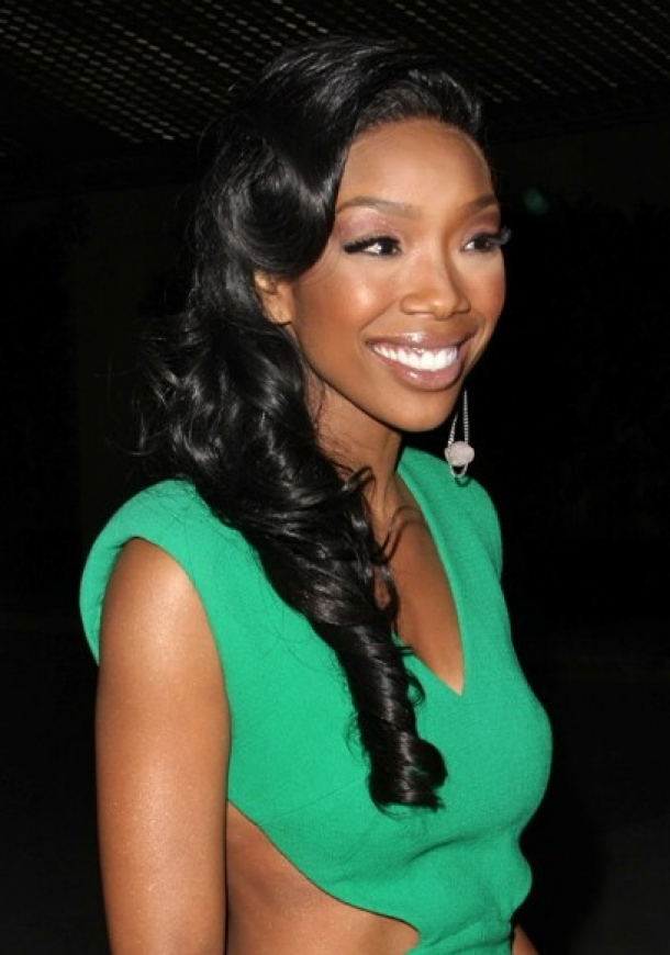 Brandy Updo Wedding Hairstyle