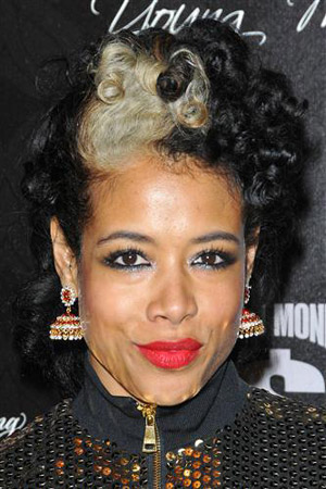 the gallery for gt kelis short hair back view