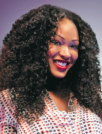 How To Get Meagan Good S Textured Ringlets