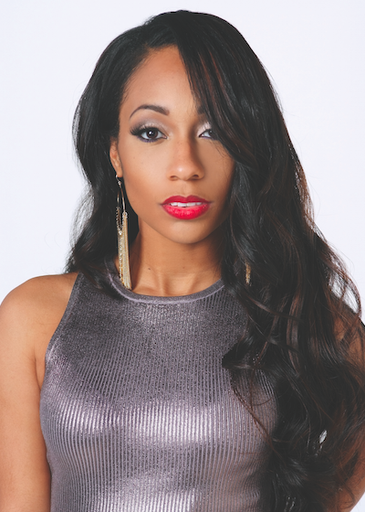 Get Look Tiffany Evans Hype Hair