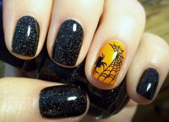 Best halloween inspired nail art prinsesfo Images