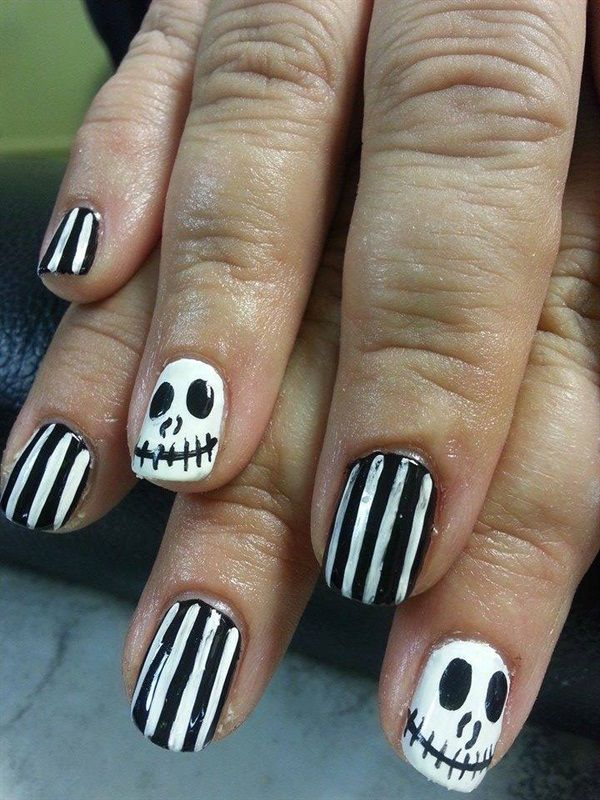 Best Halloween Inspired Nail Art