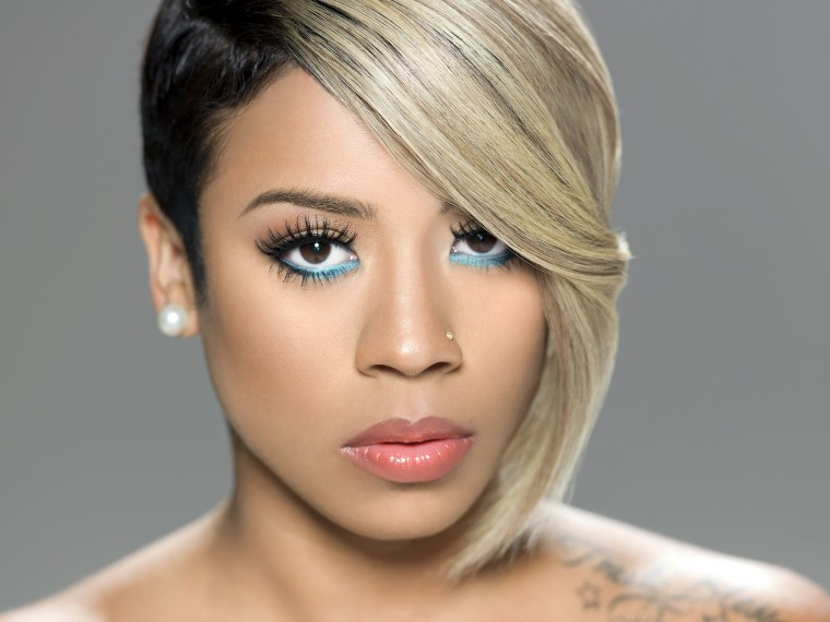 Hair Crush Wednesday Keyshia Cole s Colorful and Beautifully Cut Tresses