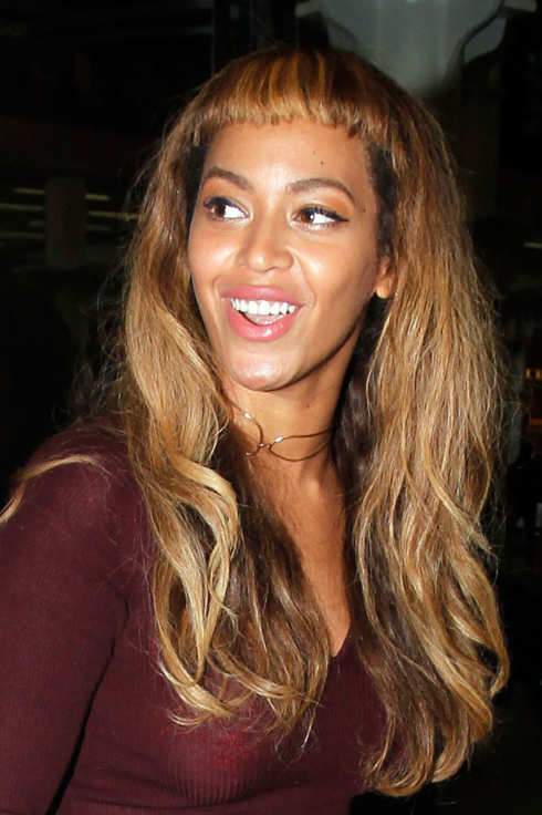 Swell Are Beyonce39S Baby Bangs On Trend Short Hairstyles For Black Women Fulllsitofus