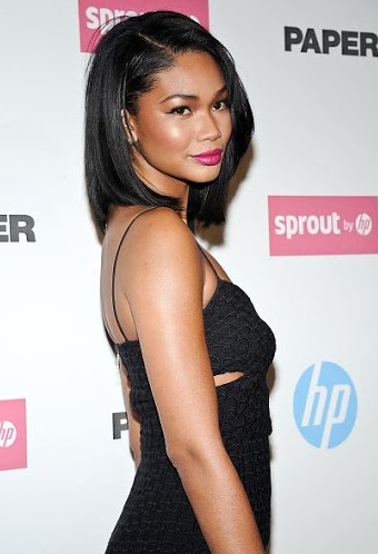 Get The Look Chanel Iman S Sexy Amp Chic Look For Sproutbyhp