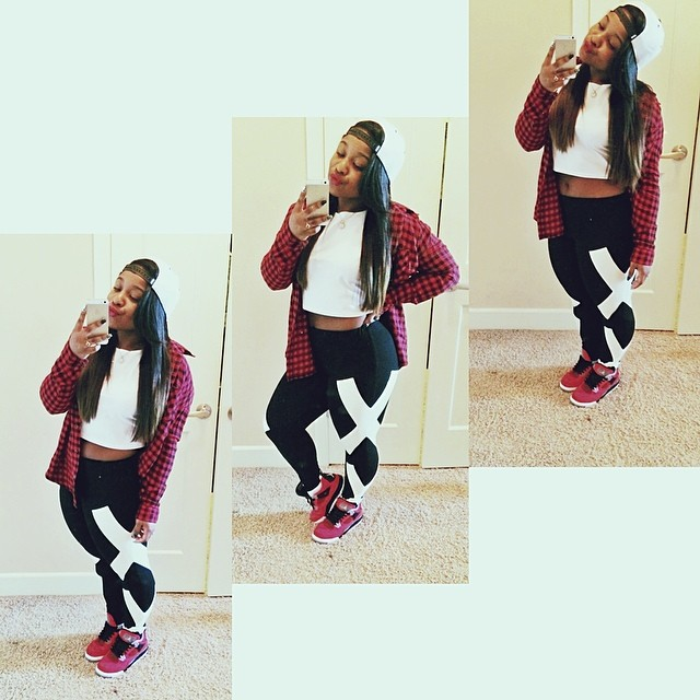 Androgynous Fashion Killer: Reginae Carter's Streetwear Style