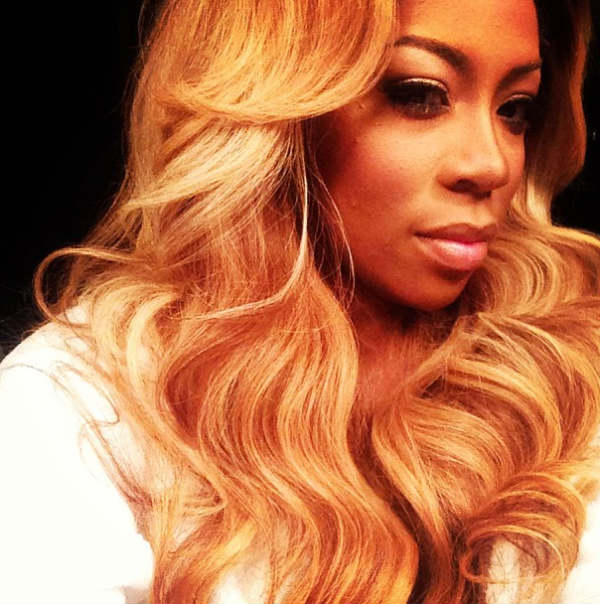 K Michelle Blonde Hair k michelle flashback10