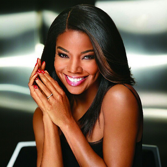 Pleasing Gabrielle Union Is A Gel Fanatic For Sensationail Short Hairstyles For Black Women Fulllsitofus