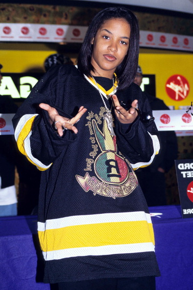 Aaliyah S Most Iconic Looks Hype Hair