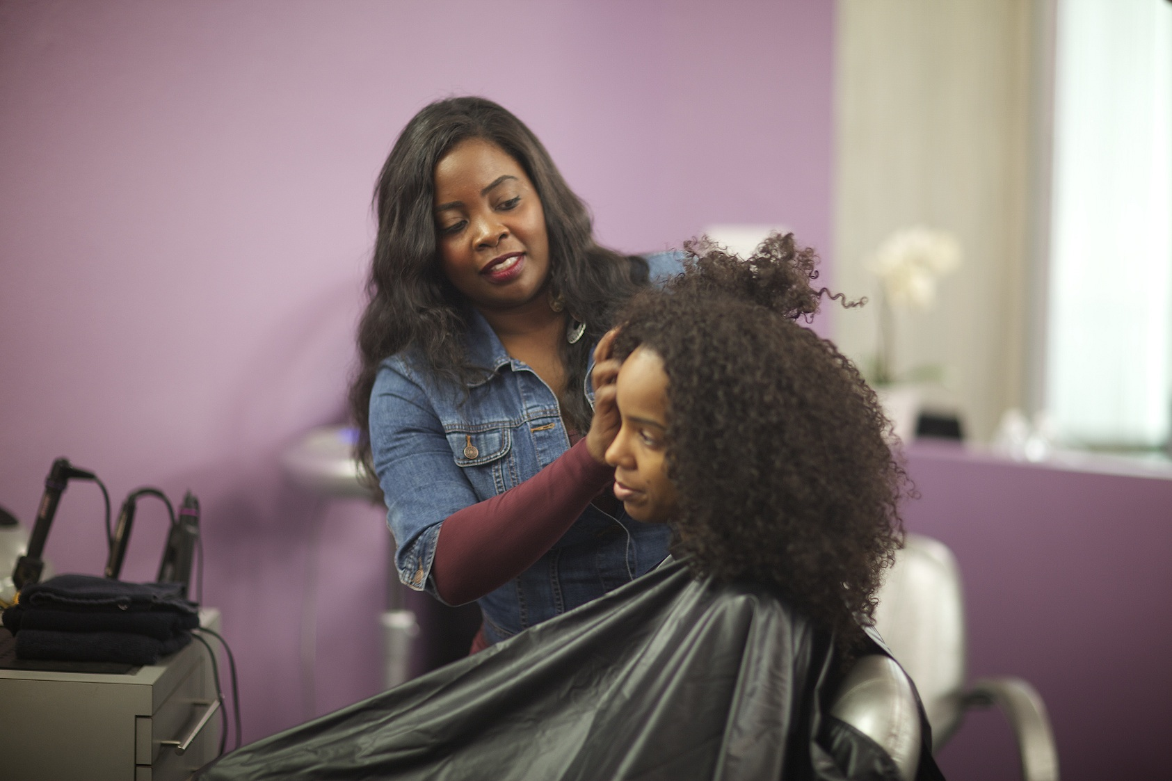 Hairstyling comes to reality tv
