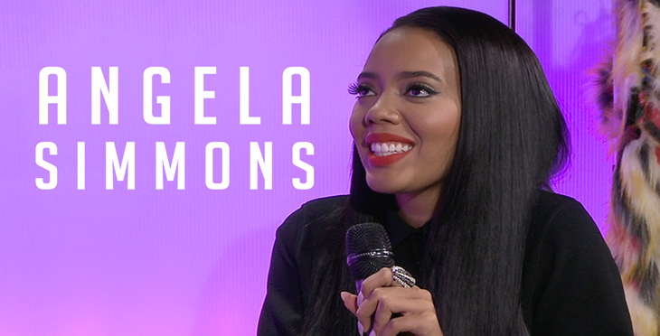 """Angela Simmons on """"Ladies First"""""""