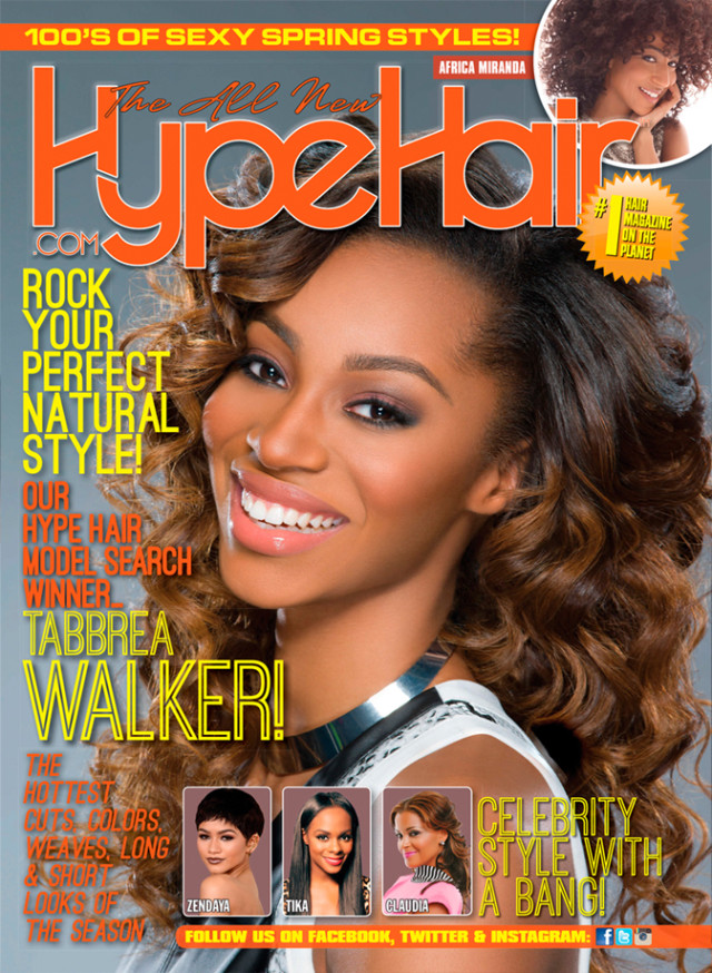 Hype Hair Rolls Out Double Cover Featuring Cynthia Bailey