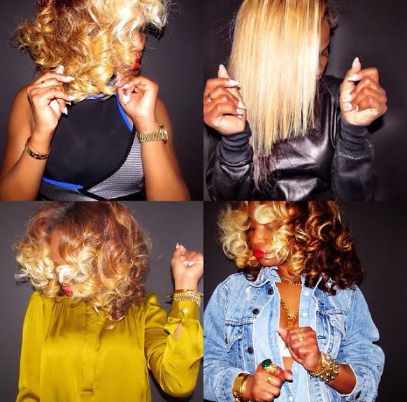 Mane Attraction 13 Times Shateria Moragne El S Two Toned