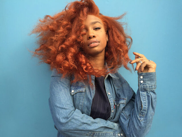 Sza x orange copper hair