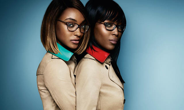 Together At Last: Naomi Campbell And Jourdan Dunn Are Stars Of Burberry's SS15 Campaign