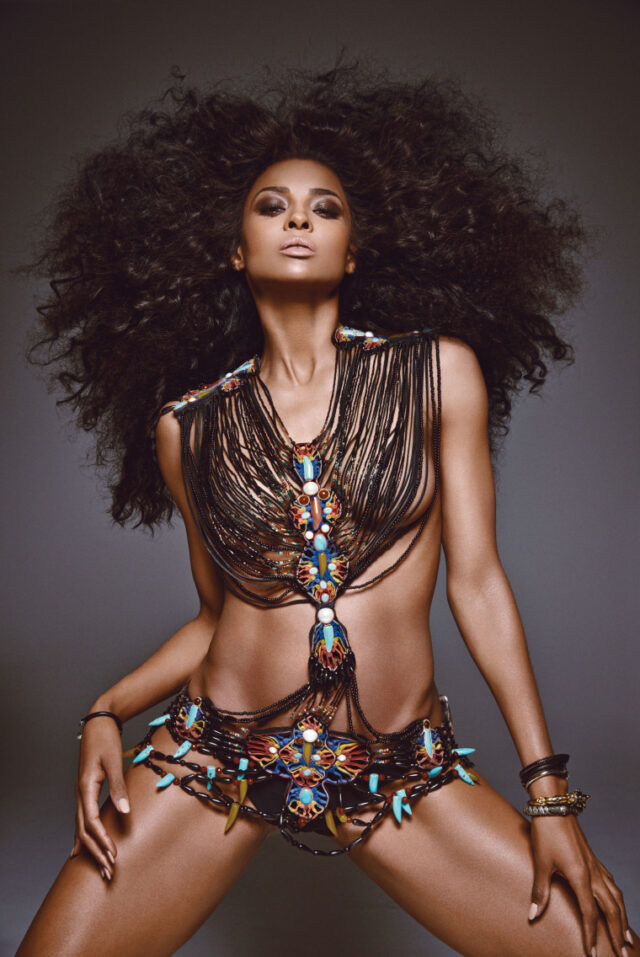 Ciara Goes Tribal Glam For W Magazine And Gives Us Hair