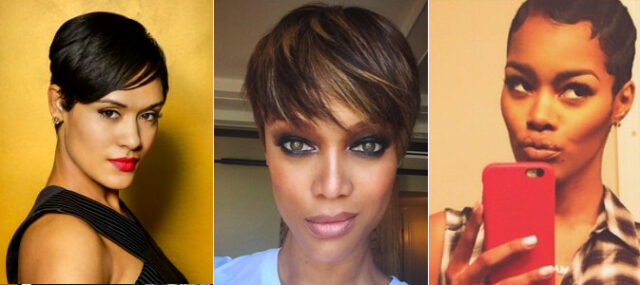 Grace Gealey, Tyra Banks and Teyana Taylor