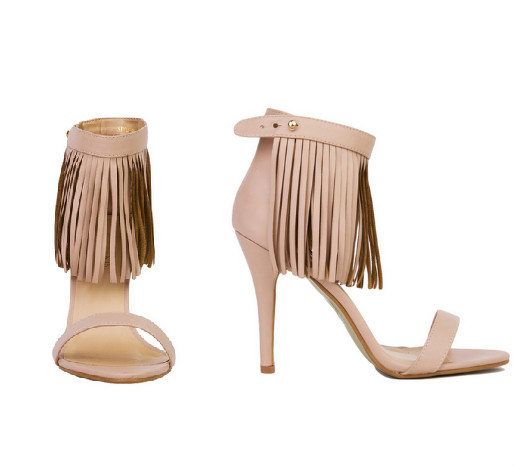 hype hair fringe heels