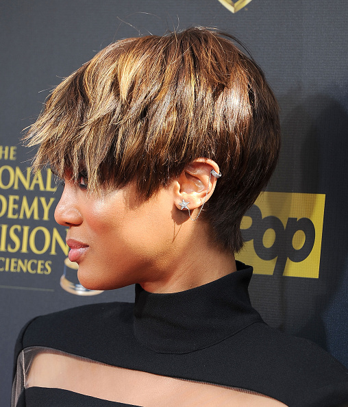 Tyra Banks Awards: ICYMI: Tyra Banks' Pixie Cut And Jumpsuit Stole The