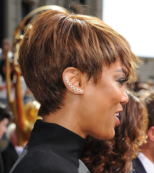 Banks Haircut : ICYMI: Tyra Banks? Pixie Cut And Jumpsuit Stole The Spotlight At The ...