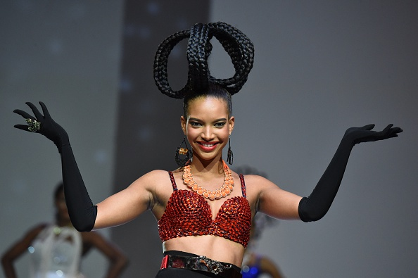 "Hair @ 10th ""Afrik"" fashion show"