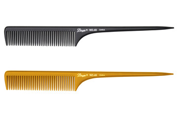 """Diane 9"""" Thick Rat Tail Comb"""