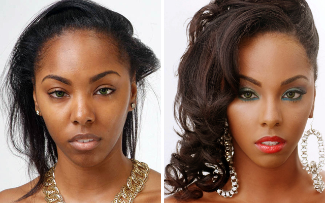 Pleasant Makeup Makeover With Drugstore Faves Short Hairstyles For Black Women Fulllsitofus