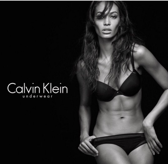 Joann Smalls for Calvin Klein
