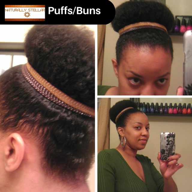 Puffs and Buns  - Lazy Girl's Guide To Postpartum Hair Care