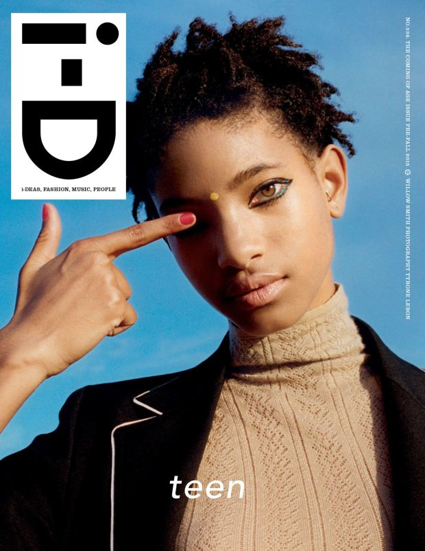 Willow Smith for i-D Pre Fall 2015