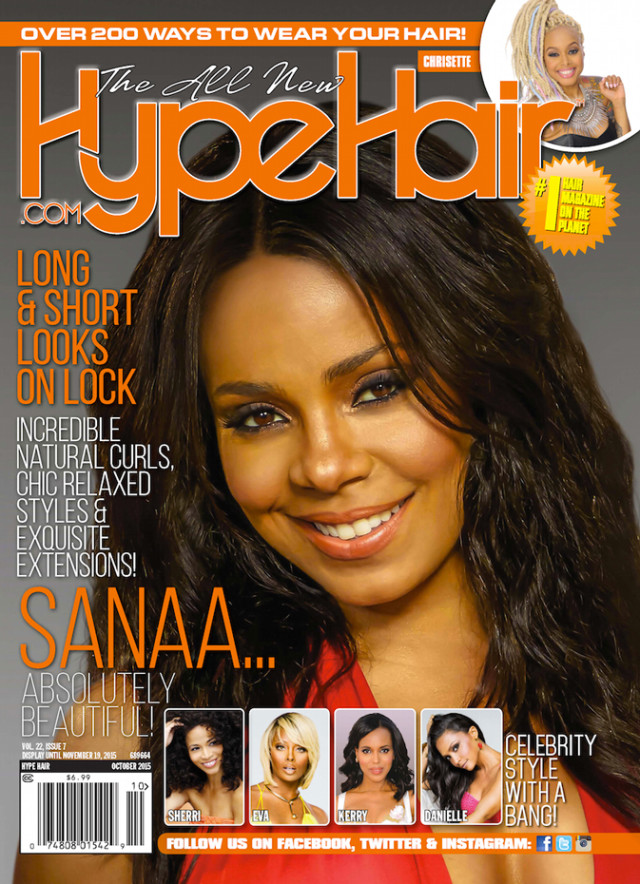 Sanaa Lathan | Hype Hair October 2015